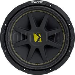 "NEW KICKER C12 12"" 300W Single 2-Ohm Comp Series Car Audio S"