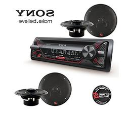 Sony Car Audio CD MP3 USB Stereo Radio Player, Front AUX Inp