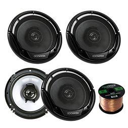 """2 Pairs Car Speaker Package of 4X Kenwood KFC-1665S 6 1/2"""" I"""
