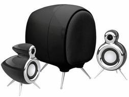 OSD Audio Classic-1 Black 2.1 Desktop Computer Speaker Syste