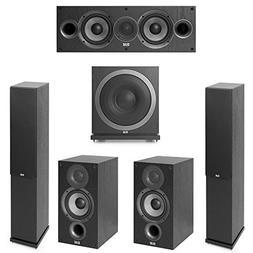 Elac Debut 2.0-5.1 System with 2 F5.2 Floorstanding Speakers