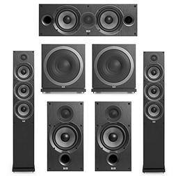 Elac Debut 2.0-5.2 System with 2 F6.2 Floorstanding Speakers
