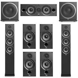 Elac Debut 2.0-7.2 System with 2 F6.2 Floorstanding Speakers