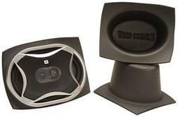 "DEI 050380 Boom Mat 6"" x 9"" Oval Speaker Baffle - Pack of 2"
