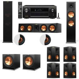 Dolby Atmos 7.2.2 Klipsch RP-280F Tower Speakers R115SW with