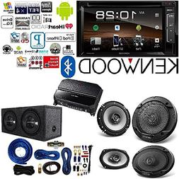 """Kenwood Double Din 6.2"""" Touchscreen Car DVD CD Stereo 6.5"""" 6"""