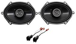 Front Hifonics Factory Speaker Replacement Kit For 1998-11 F