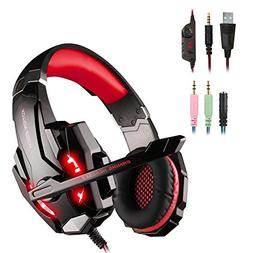 WEIE G9000 Gaming Headset, Surround Sound Gaming Headphone f