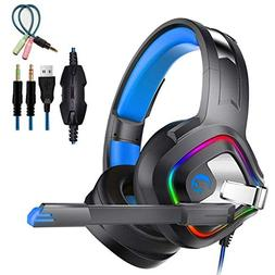 Gaming Headset 4D Stereo Surround Gaming Headset with Microp