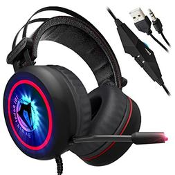 Gaming Headset for Xbox One, PS4, PC - 7.1 Best Surround St