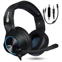 NUBWO Gaming Headset for Xbox One PS4 PC Gaming and Nintendo
