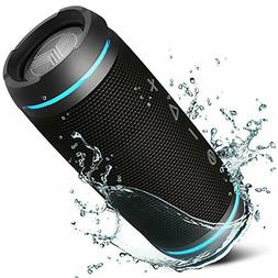 TREBLAB HD77 Premium Bluetooth Speaker - Loud 360° HD Surro