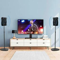 Height Adjustable Surround Sound Speaker Stands Mounts Small