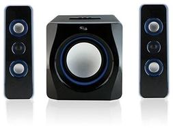 Home Speaker System Surround Sound Built In Subwoofer For PC