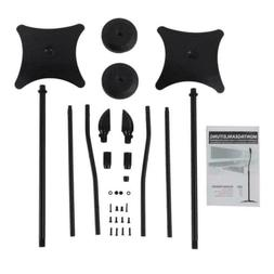 Iron Universal Surround Sound Speaker Stands Set Of 2 Satell