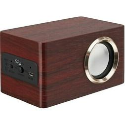 iSB135RW Portable Wooden Bluetooth Speaker