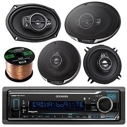 Kenwood KMM-BT315U Single DIN Bluetooth In-Dash AM/FM Car St