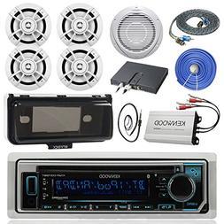 Kenwood KMRD372BT Marine Audio Bluetooth CD Player Receiver