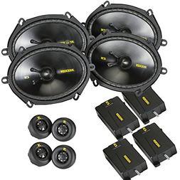 Kicker CS speaker package - Two pairs of Kicker CS Series 6x