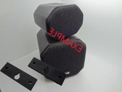 klh satellite surround sound speaker wall mount