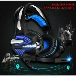 KOTION EACH Stereo Gaming Headsets Headphones With Mic 50mm