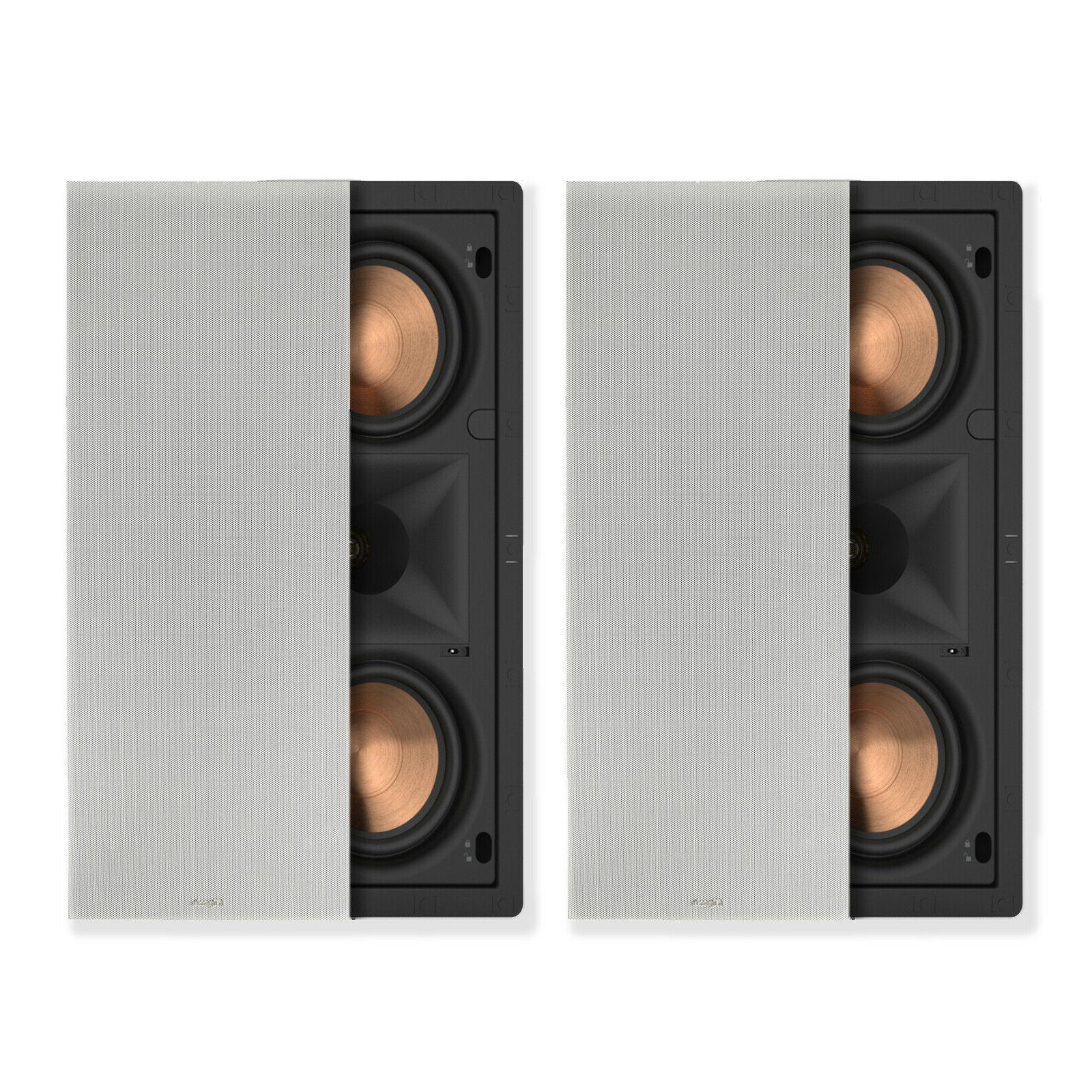 Klipsch 1063965 PRO-250RPW in-Wall LCR Speaker White