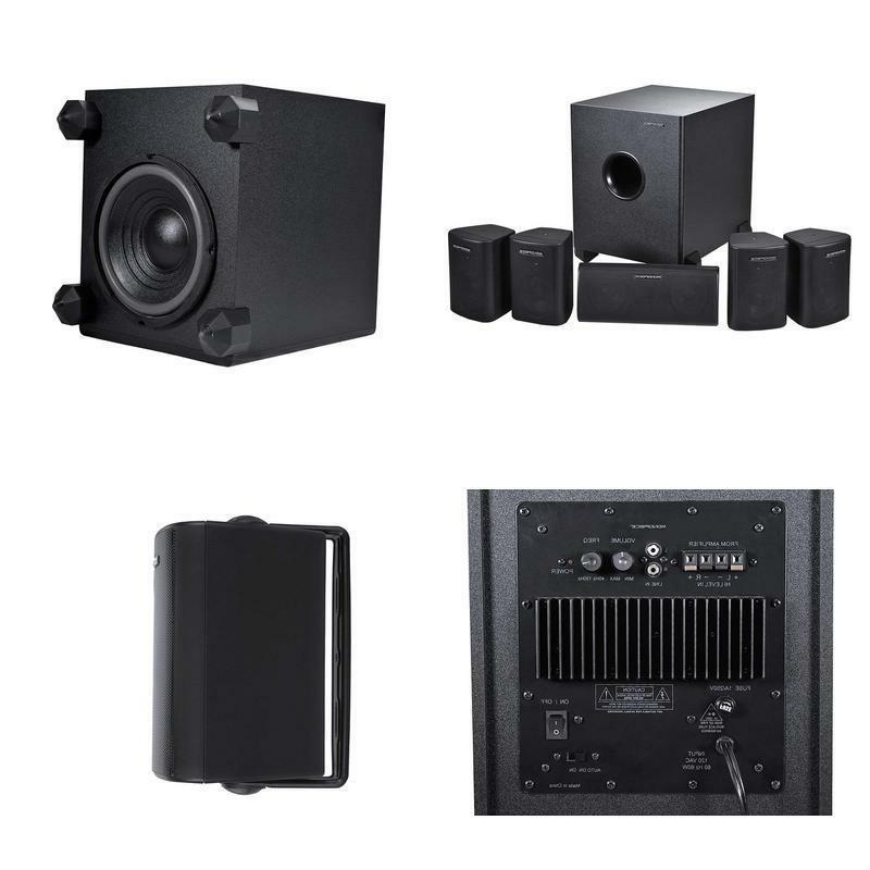 108247 5 1 channel home theater speaker