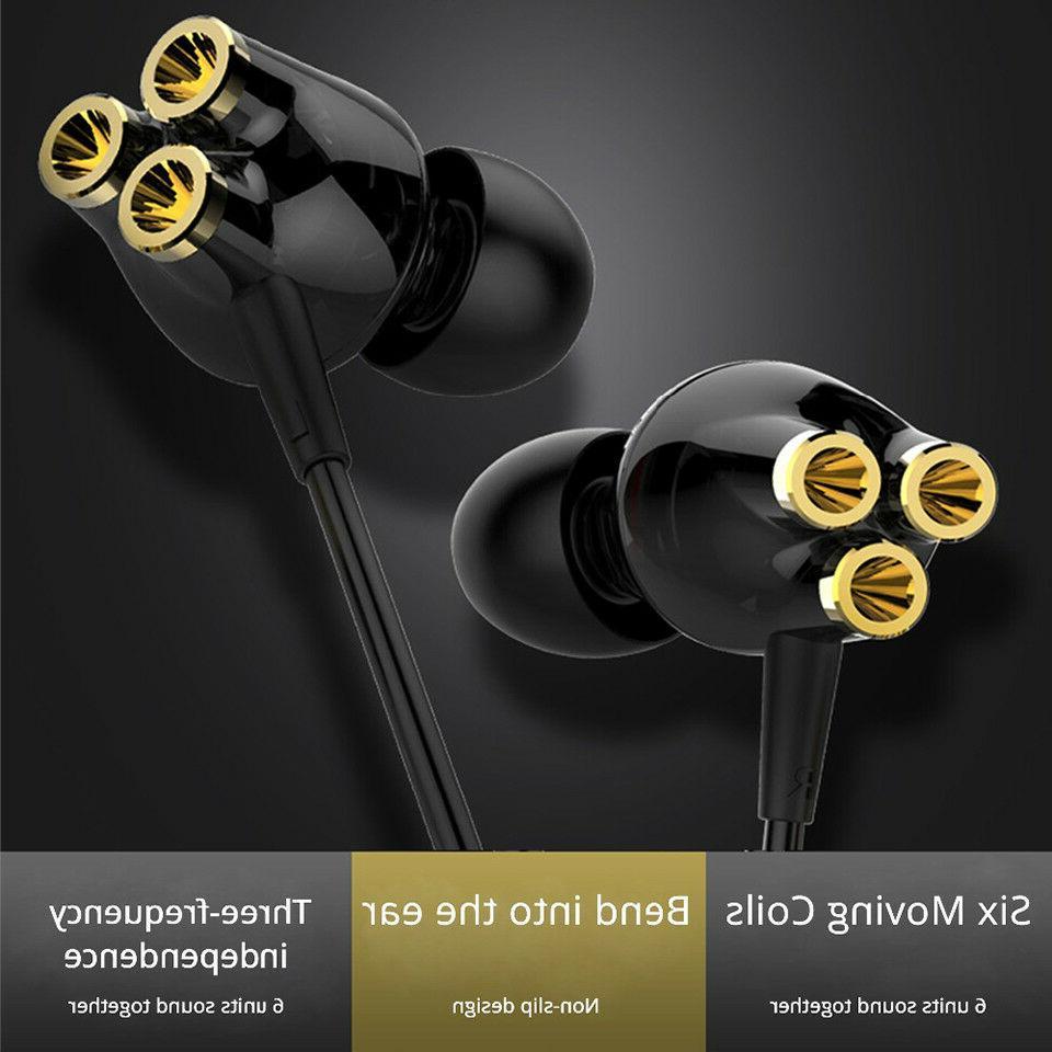 3D Sports Headset 6 Earphones