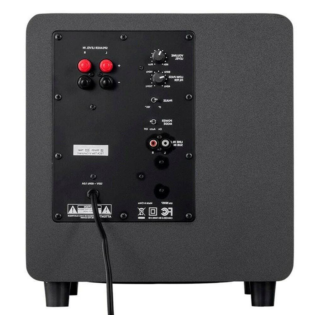 5.1 Home Speaker Sound Powered Active Subwoofer