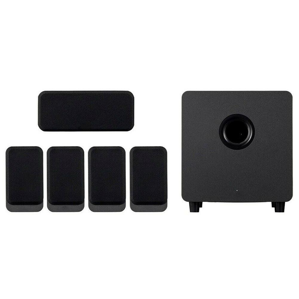 5.1 Theater Speaker System Powered