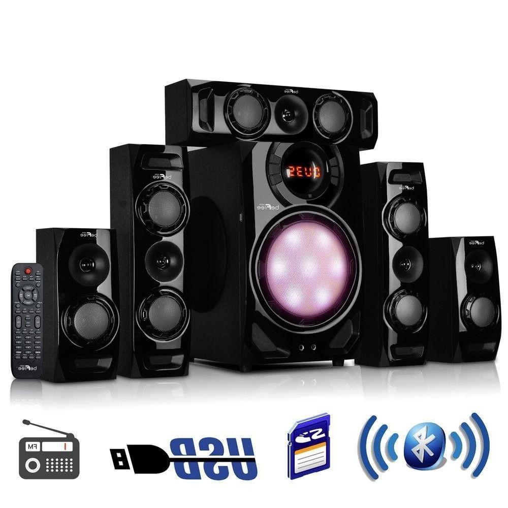 5 1 channel surround sound bluetooth speaker