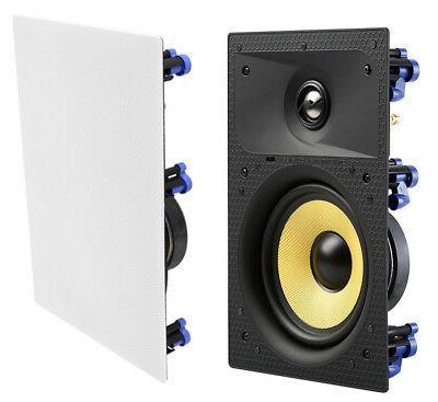 """7 - 6.5"""" Home Theater Speaker Flush White"""