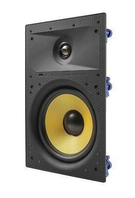 "7 6.5"" Home Theater Surround Speaker White"