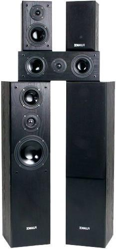 Fluance AVHTB Surround Sound Home Theater 5.0 Channel Speake