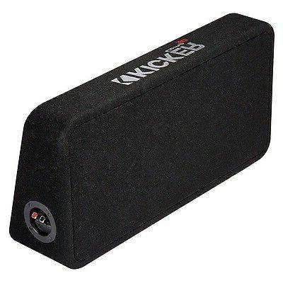 Kicker - Dual-voice-coil Enclosure - Black