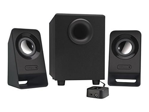Logitech Multimedia 2.1 Speakers Z213 for PC and Mobile Devi
