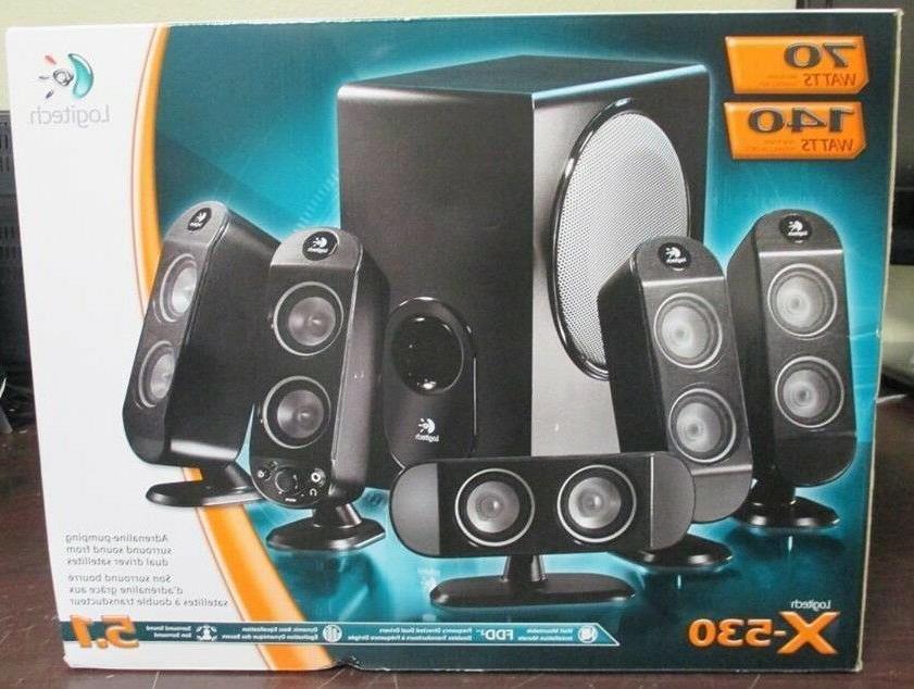 Logitech X-530 5.1 Speaker System