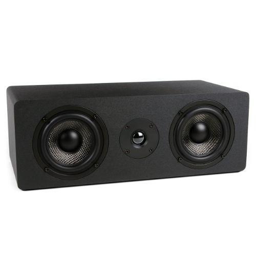 Micca Center Speaker 4-Inch Carbon Fiber