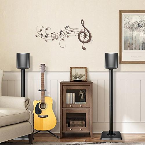 2 PAIRS SPEAKER STAND FOR surround sound home theater systems