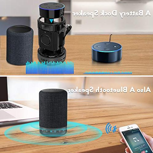 1Mii Long Bluetooth Speaker Portable Speaker Music Mode&Vocal Surround Speakers, Playtime, AUX-in