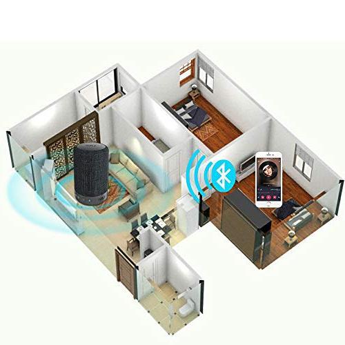 1Mii Bluetooth Wireless Speaker, Portable Mode&Vocal Mode, 10W 360⁰ Surround Playtime,