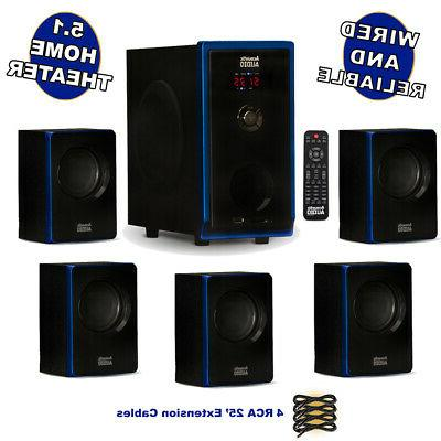 acoustic audio aa5102 home theater