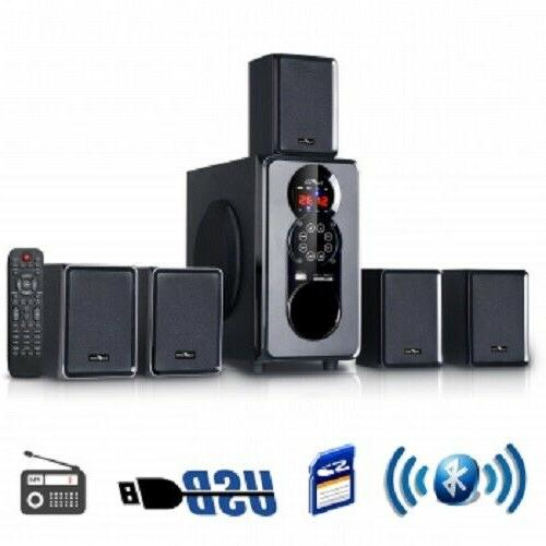 befree bfs455 5 1 channel surround sound