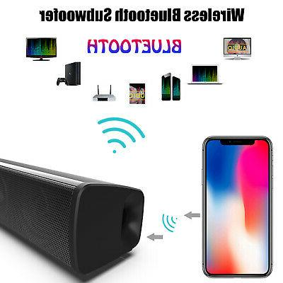 Bluetooth Soundbar TV Home Speaker 3D Surround Sound