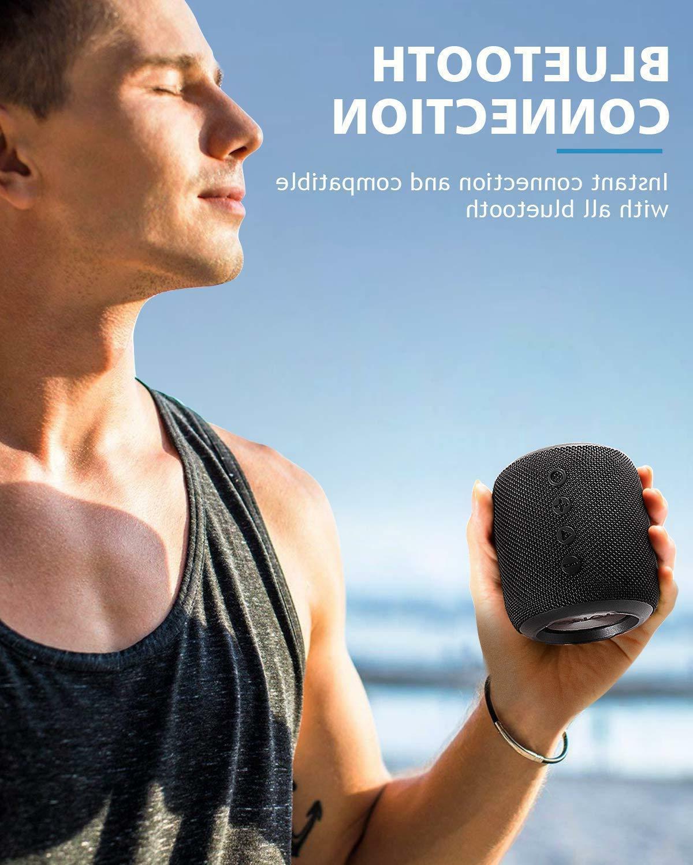 IPX6 Waterproof Wireless Aux 360° Surround Sound