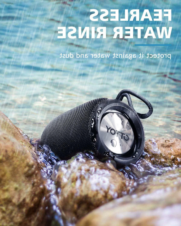 Bluetooth 12W IPX6 Waterproof Wireless 360° Surround Sound