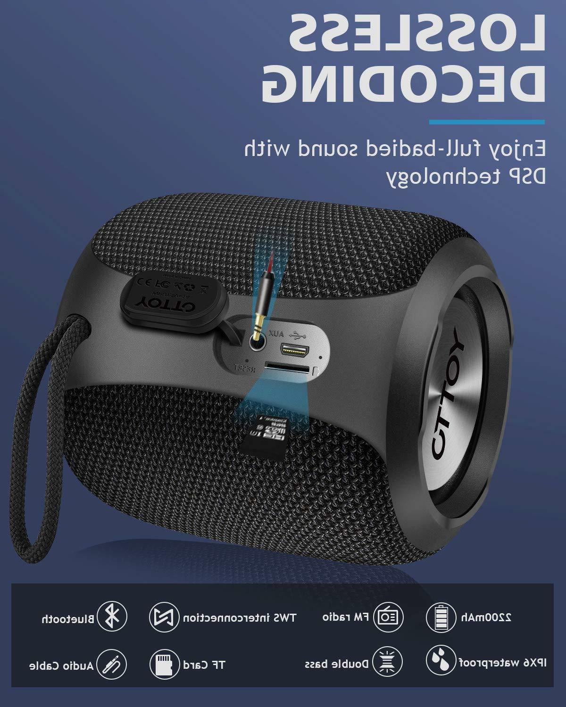 Bluetooth Portable 360° Surround