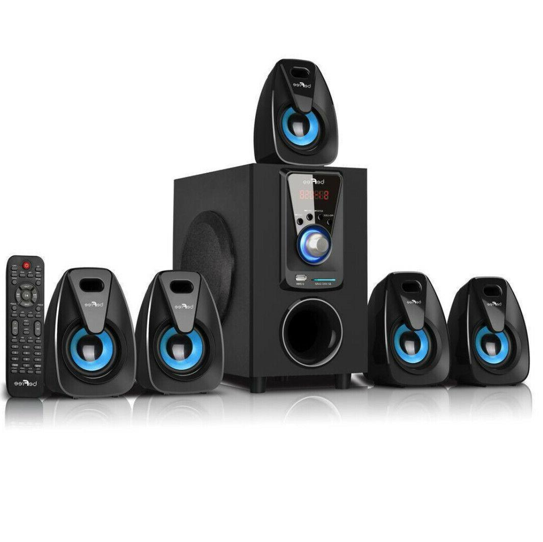 Bluetooth System Sound Theater Entertainment