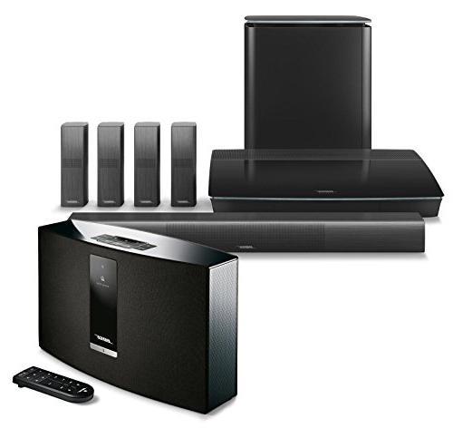 bose lifestyle 650 home entertainment system black soundtouc