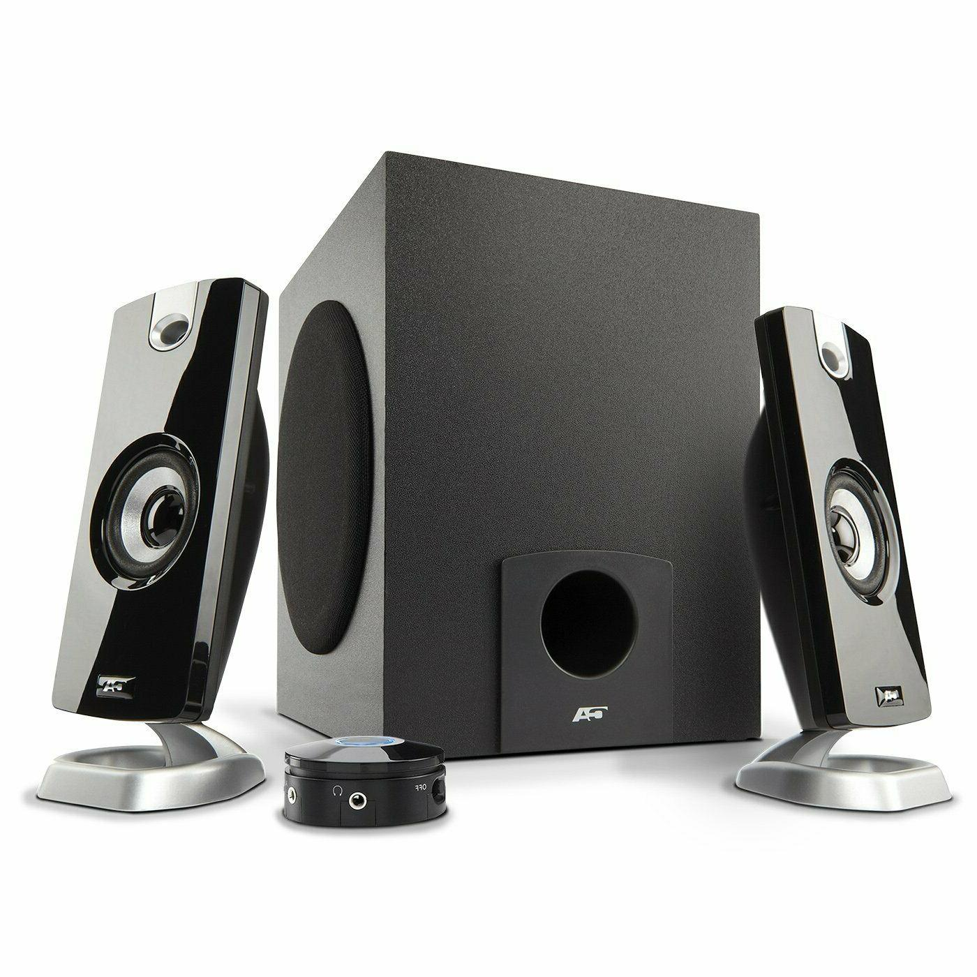 Computer PC Speakers 2.1 Desktop with Subwoofer Audio Laptop